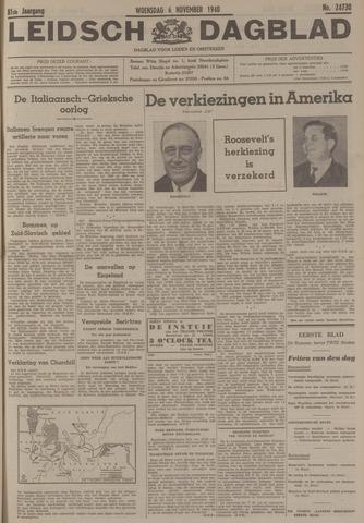 Leidsch Dagblad 1940-11-06
