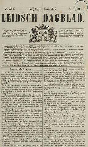 Leidsch Dagblad 1861-11-01