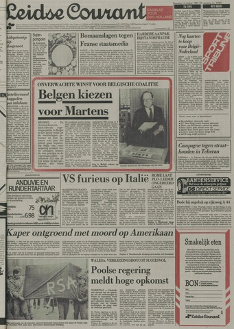 Leidse Courant 1985-10-14
