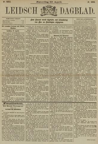 Leidsch Dagblad 1890-04-19