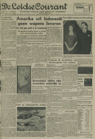 Leidse Courant 1958-04-09