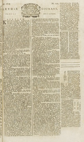 Leydse Courant 1819-10-08
