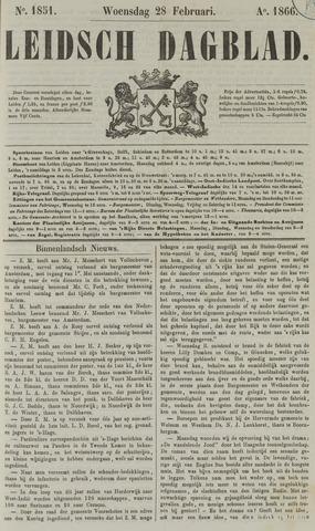 Leidsch Dagblad 1866-02-28