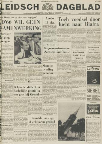 Leidsch Dagblad 1968-08-20