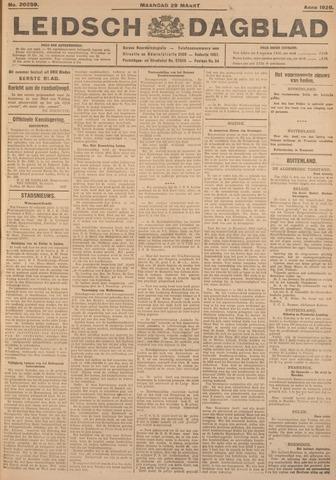 Leidsch Dagblad 1926-03-29