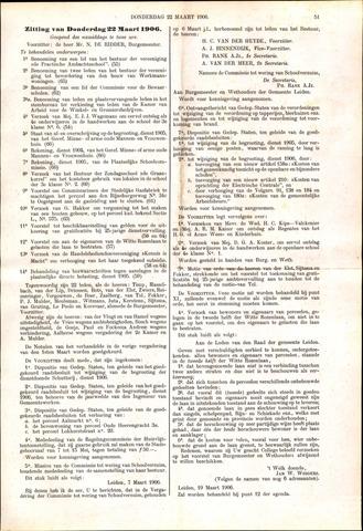 Handelingen van de Raad 1906-03-22