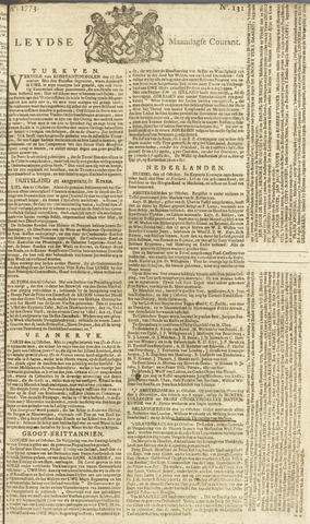 Leydse Courant 1773-11-01
