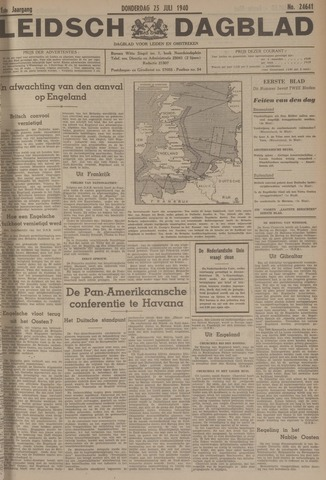Leidsch Dagblad 1940-07-25