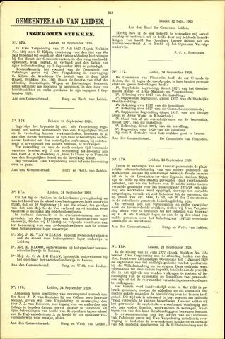 Handelingen van de Raad 1928-09-24