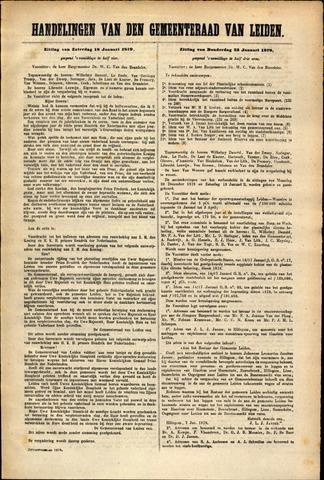 Handelingen van de Raad 1879-01-18