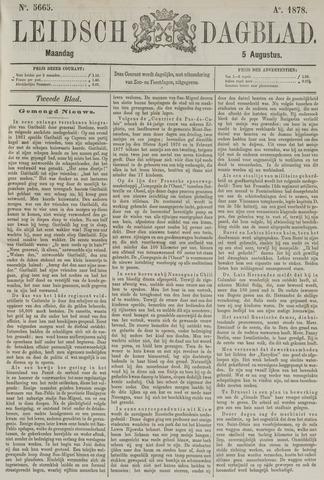 Leidsch Dagblad 1878-08-05