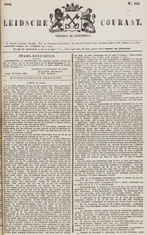 Leydse Courant 1884-10-24
