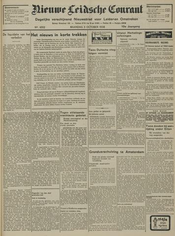 Nieuwe Leidsche Courant 1938-10-03