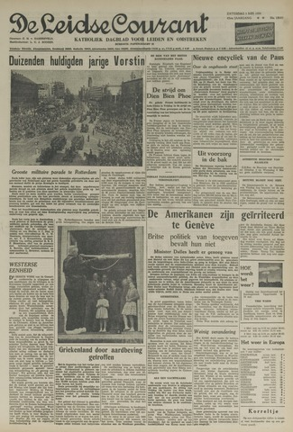 Leidse Courant 1954-05-01