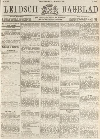 Leidsch Dagblad 1915-08-04