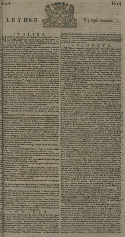 Leydse Courant 1726-12-27