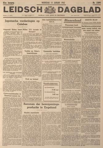Leidsch Dagblad 1942-01-14