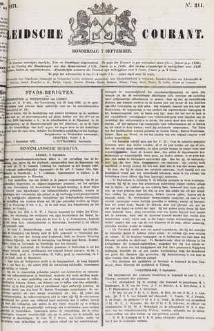 Leydse Courant 1871-09-07