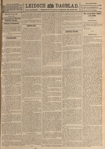 Leidsch Dagblad 1921-07-25
