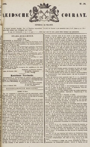 Leydse Courant 1885-03-24