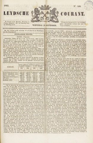 Leydse Courant 1862-09-10