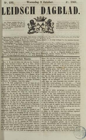 Leidsch Dagblad 1861-10-02