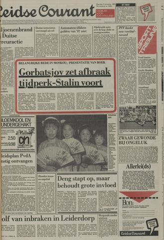 Leidse Courant 1987-11-02