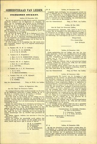 Handelingen van de Raad 1930-12-30