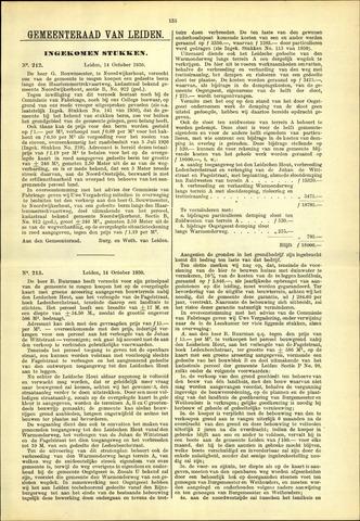Handelingen van de Raad 1930-10-14