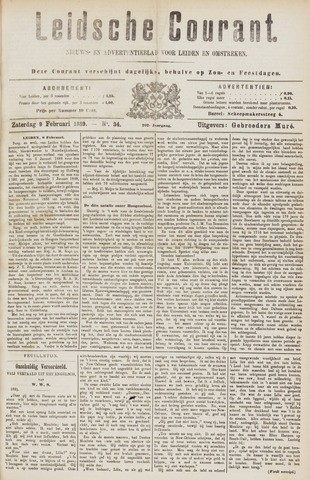 Leydse Courant 1889-02-09