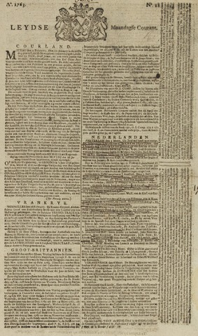 Leydse Courant 1763-03-07
