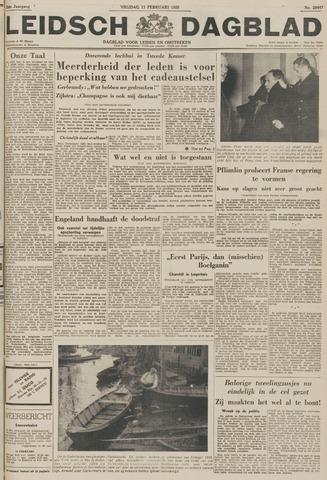 Leidsch Dagblad 1955-02-11