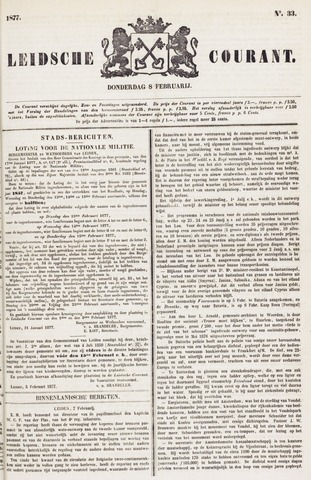 Leydse Courant 1877-02-08