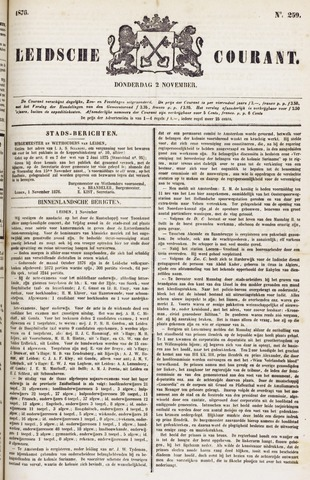 Leydse Courant 1876-11-02