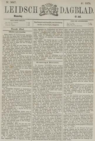 Leidsch Dagblad 1878-07-15