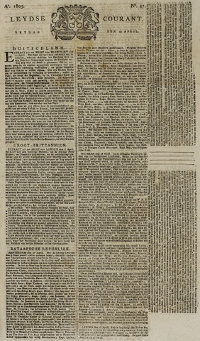 Leydse Courant 1805-04-19