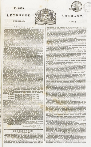 Leydse Courant 1839-05-22