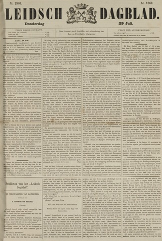 Leidsch Dagblad 1869-07-29