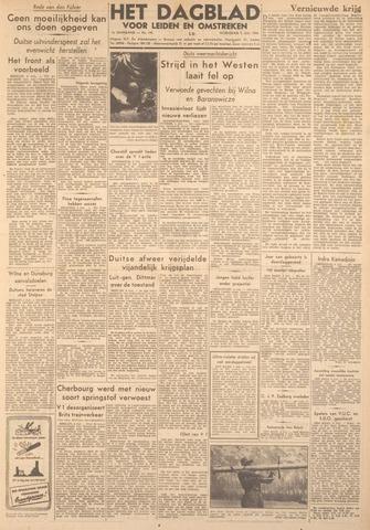 Dagblad voor Leiden en Omstreken 1944-07-05