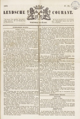 Leydse Courant 1862-03-26