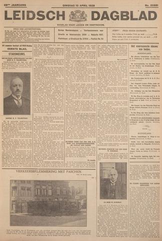 Leidsch Dagblad 1928-04-10