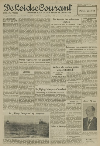 Leidse Courant 1952-01-08