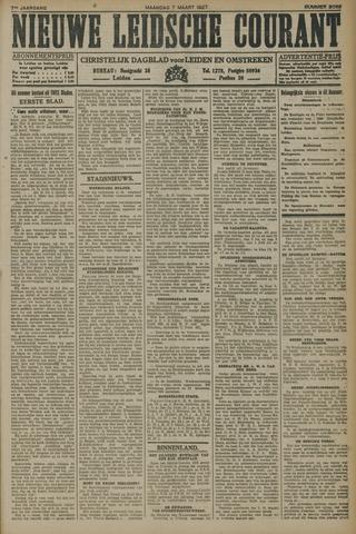 Nieuwe Leidsche Courant 1927-03-07