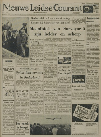 Nieuwe Leidsche Courant 1967-09-11