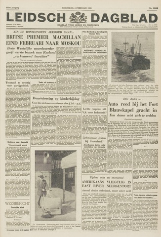 Leidsch Dagblad 1959-02-04