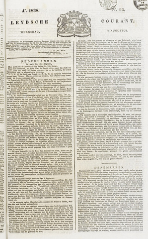 Leydse Courant 1838-08-08