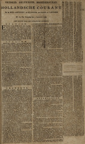 Leydse Courant 1795-09-09