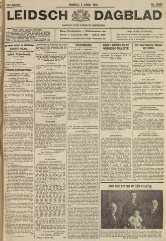Leidsch Dagblad 1932-04-05