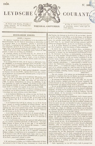 Leydse Courant 1850-09-04