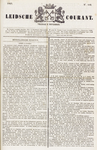 Leydse Courant 1869-11-05